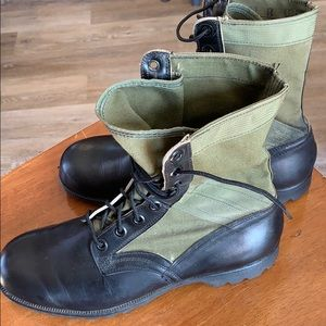 Genesco tropical combat boots Vietnam era